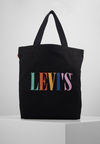Levi's® - SERIF LEVI'S® MULTI - Bolso shopping - regular black - 0