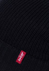 Levi's® - RIBBED BEANIE - Beanie - regular black