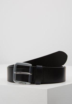 SOCO BELT - Pasek - regular black
