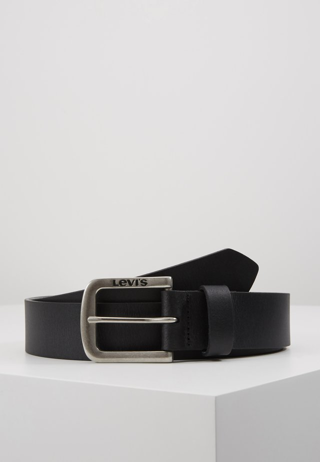SEINE - Ceinture - regular black