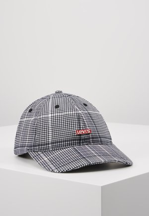 PLAID HAT - Pet - dark grey