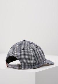 Levi's® - PLAID HAT - Kšiltovka - dark grey - 2