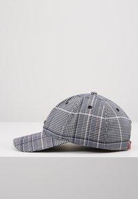 Levi's® - PLAID HAT - Kšiltovka - dark grey - 3