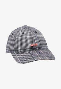 Levi's® - PLAID HAT - Kšiltovka - dark grey - 4