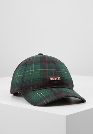PLAID HAT - Kšiltovka - light khaki