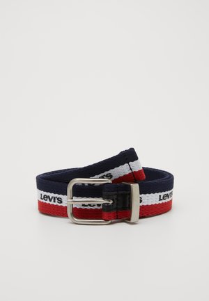 BATWING BUCKLE BELT - Pásek - dress blues