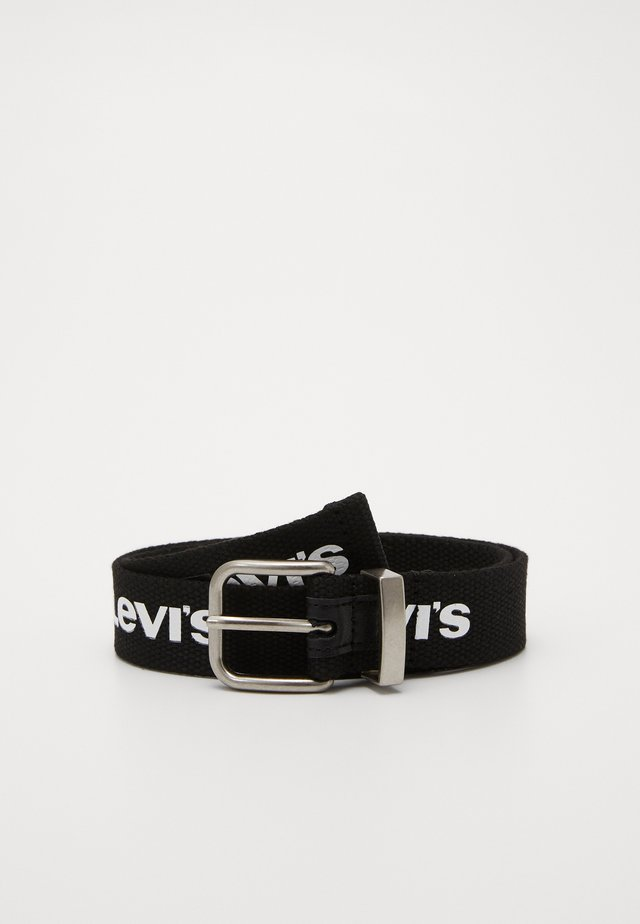 WEBBING BELT - Belt - black