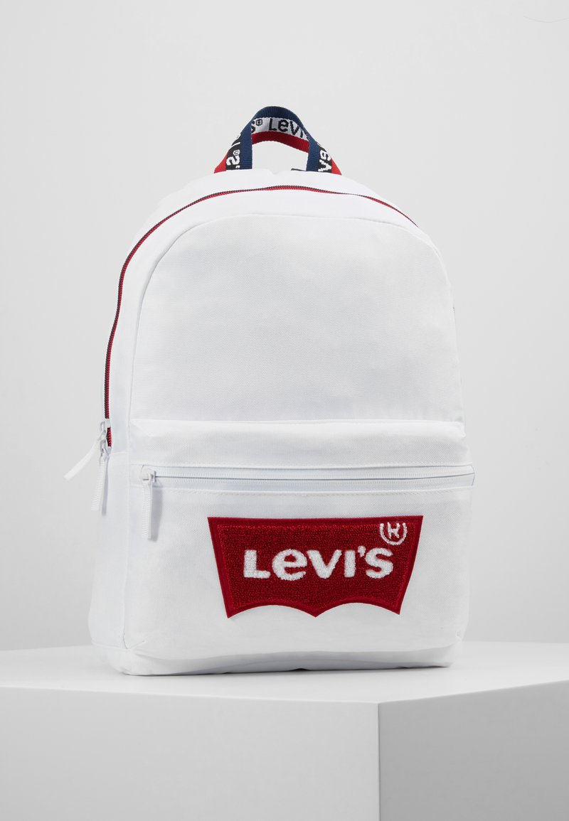 Levi's® - MULTI ZIP BATWING BACKPACK - Rucksack - white