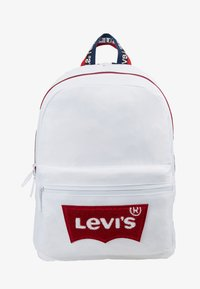 Levi's® - MULTI ZIP BATWING BACKPACK - Rucksack - white - 1