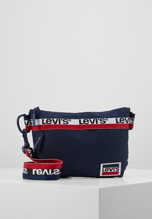 LOGO TAPING CROSSBODY - Sac bandoulière - dress blues
