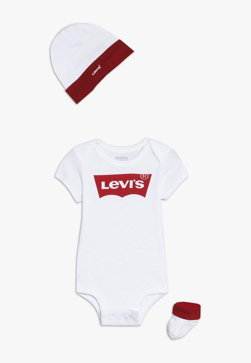 Levi's® - CLASSIC BATWING INFANT BABY SET - Geboortegeschenk - white