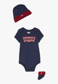Levi's® - CLASSIC BATWING INFANT BABY SET - Geboortegeschenk - dark blue - 0