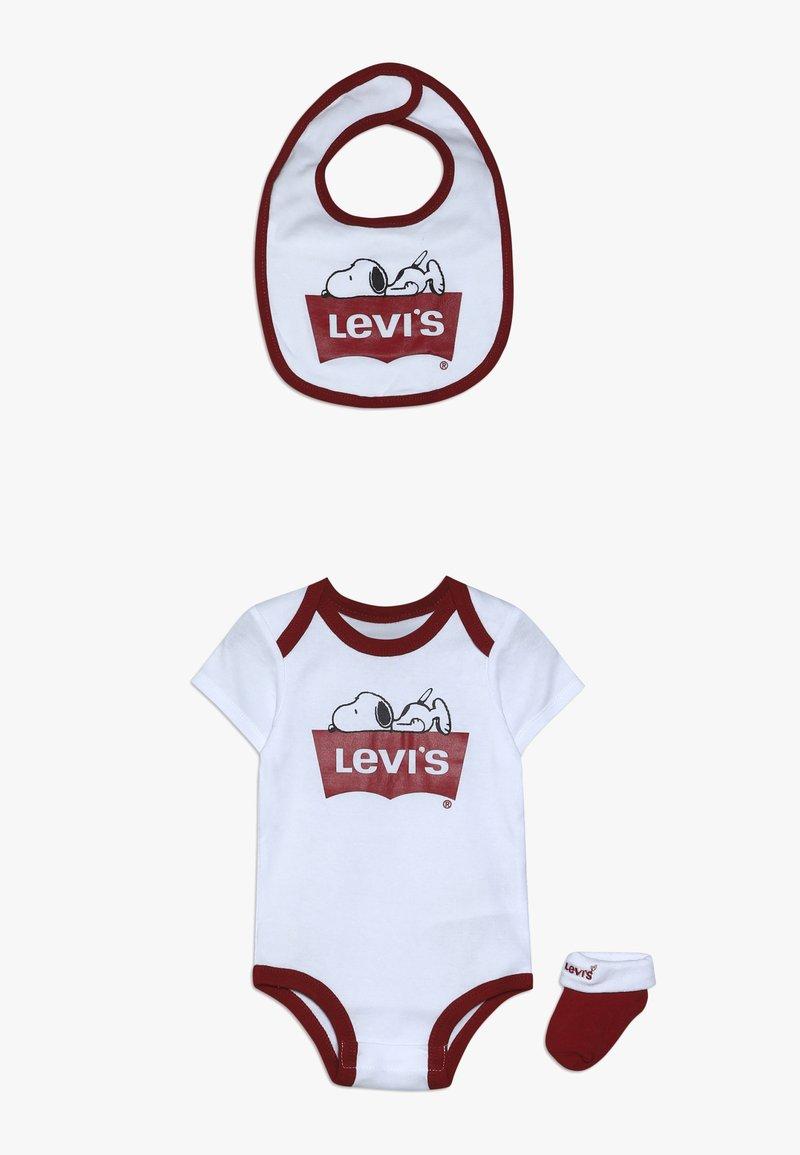 Levi's® - SNOOPY BABY SET - Body - white