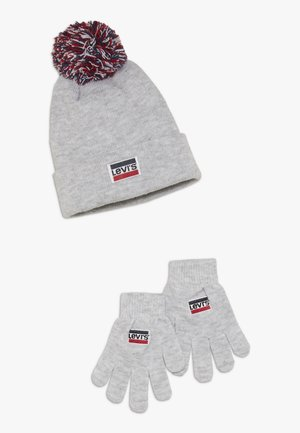 BEANIE GLOVE SET - Gants - light grey heather