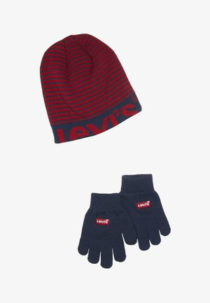 BEANIE GLOVE SET - Sormikkaat - chili pepper