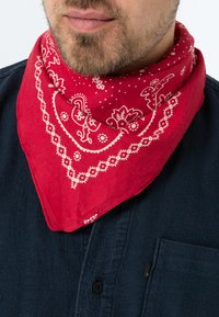 Levi's® - PAISLEY BANDANA - Foulard - regular red - 0