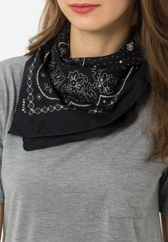 PAISLEY BANDANA - Pañuelo - regular black