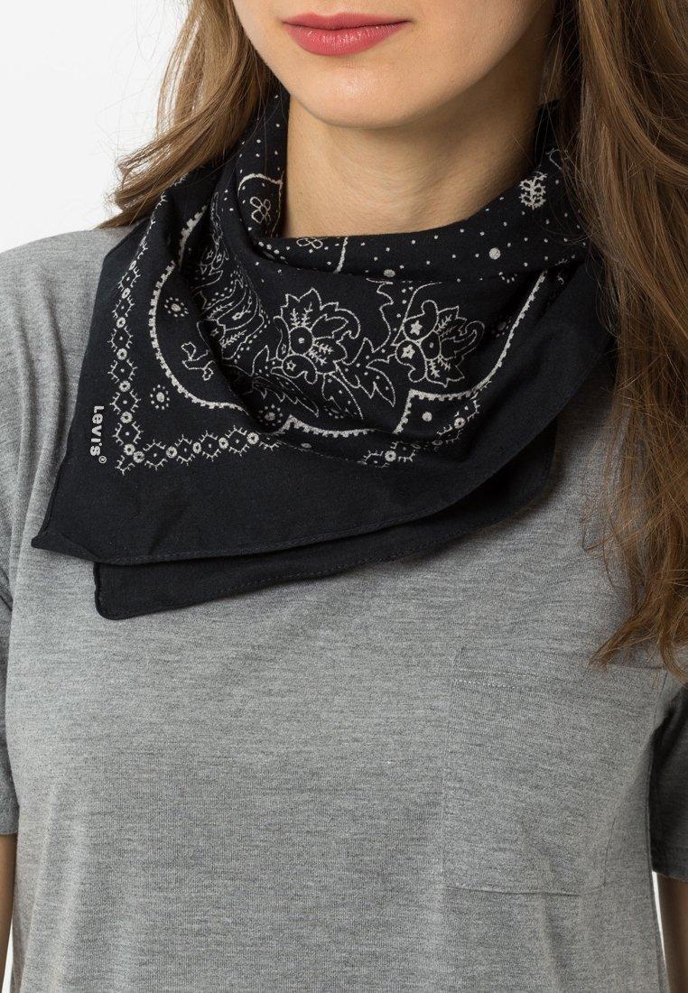 Levi's® - PAISLEY BANDANA - Šátek - regular black
