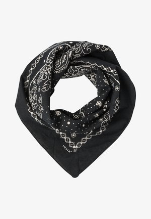 PAISLEY BANDANA - Halsdoek - regular black