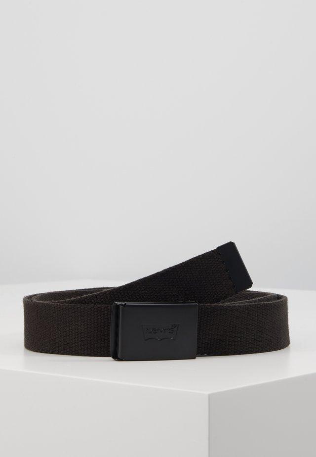 TONAL BELT - Pásek - regular black