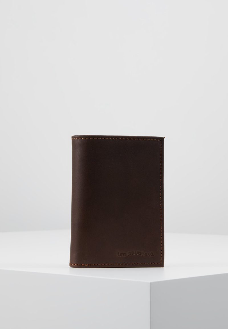 Levi's® - CASUAL CLASSICS KNOLL COIN BIFOLD - WAVE - Wallet - dark brown