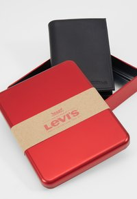 Levi's® - CASUAL CLASSICS KNOLL COIN BIFOLD - WAVE - Lommebok - regular black - 2