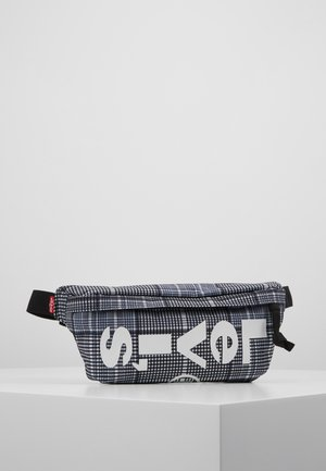 BANANA SLING PLAID - Ledvinka - grey/dark green