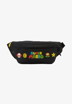SUPER MARIO BANANA SLING - Saszetka nerka - regular black