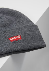 Levi's® - BATWING EMBROIDERED SLOUCHY BEANIE - Lue - regular grey - 5