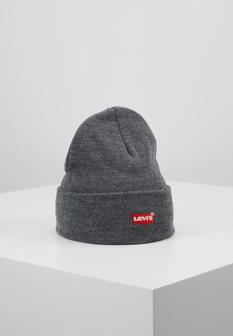 Levi's® - BATWING EMBROIDERED SLOUCHY BEANIE - Lue - regular grey