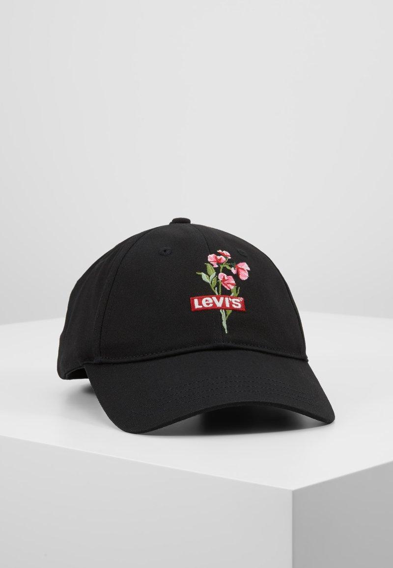 Levi's® - FLORAL CAP SELF - Cap - black