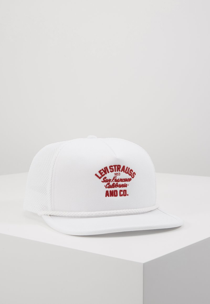Levi's® - TRUCKER HAT - Cap - white