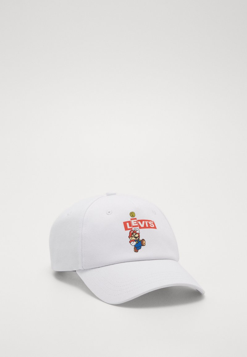 Levi's® - MARIO BOX LOGO - Cap - regular white