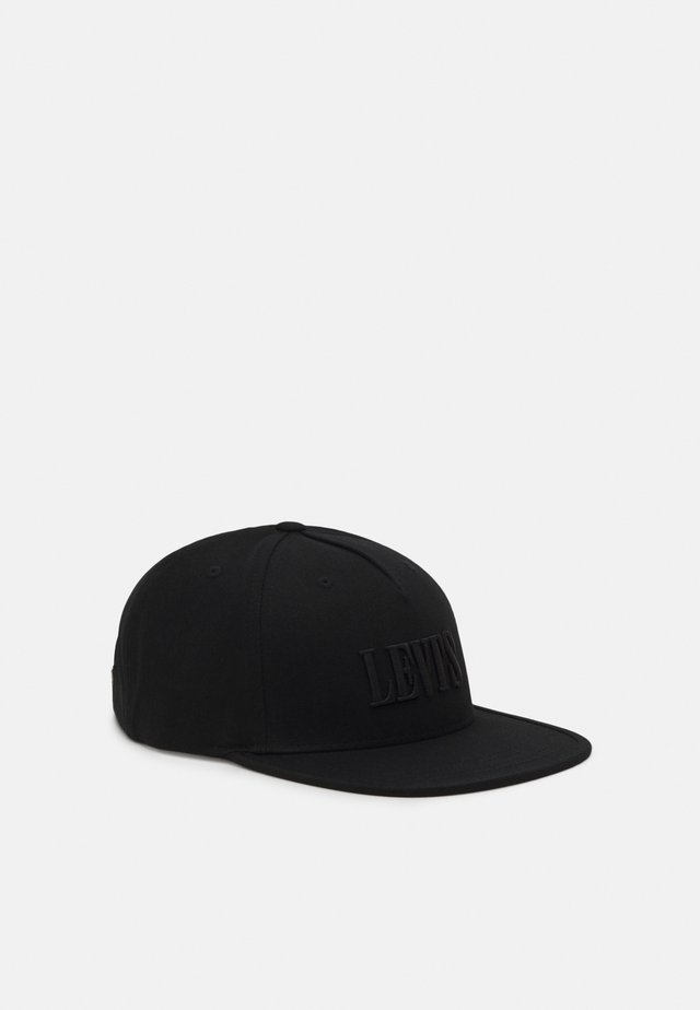 FLAT BRIM UNISEX - Keps - regular black