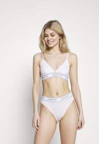 Levi's® - MID RISE HIGH CUT BRIEF - Slip - bright white - 1