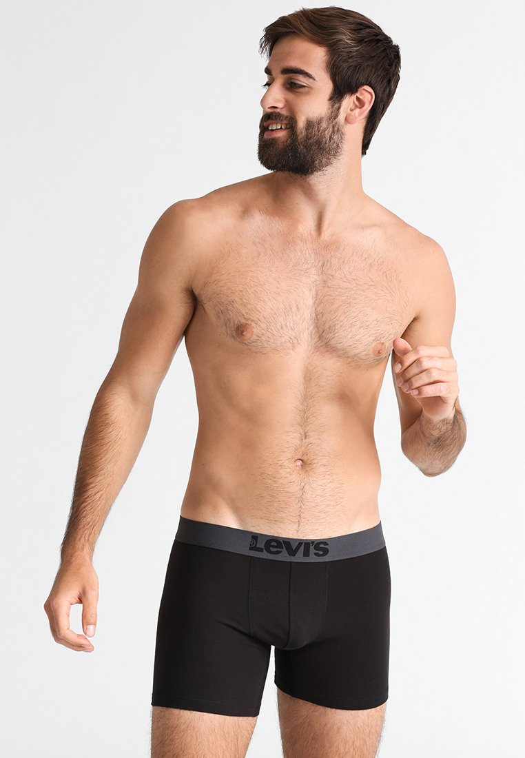 Levi's® - BOXER BRIEF 2 PACK - Panty - jet black