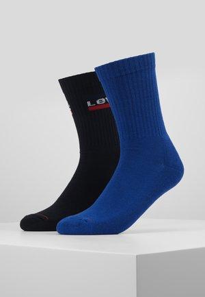 REGULAR CUT VERTICAL LOGO 2 PACK - Sokker - sodalite blue