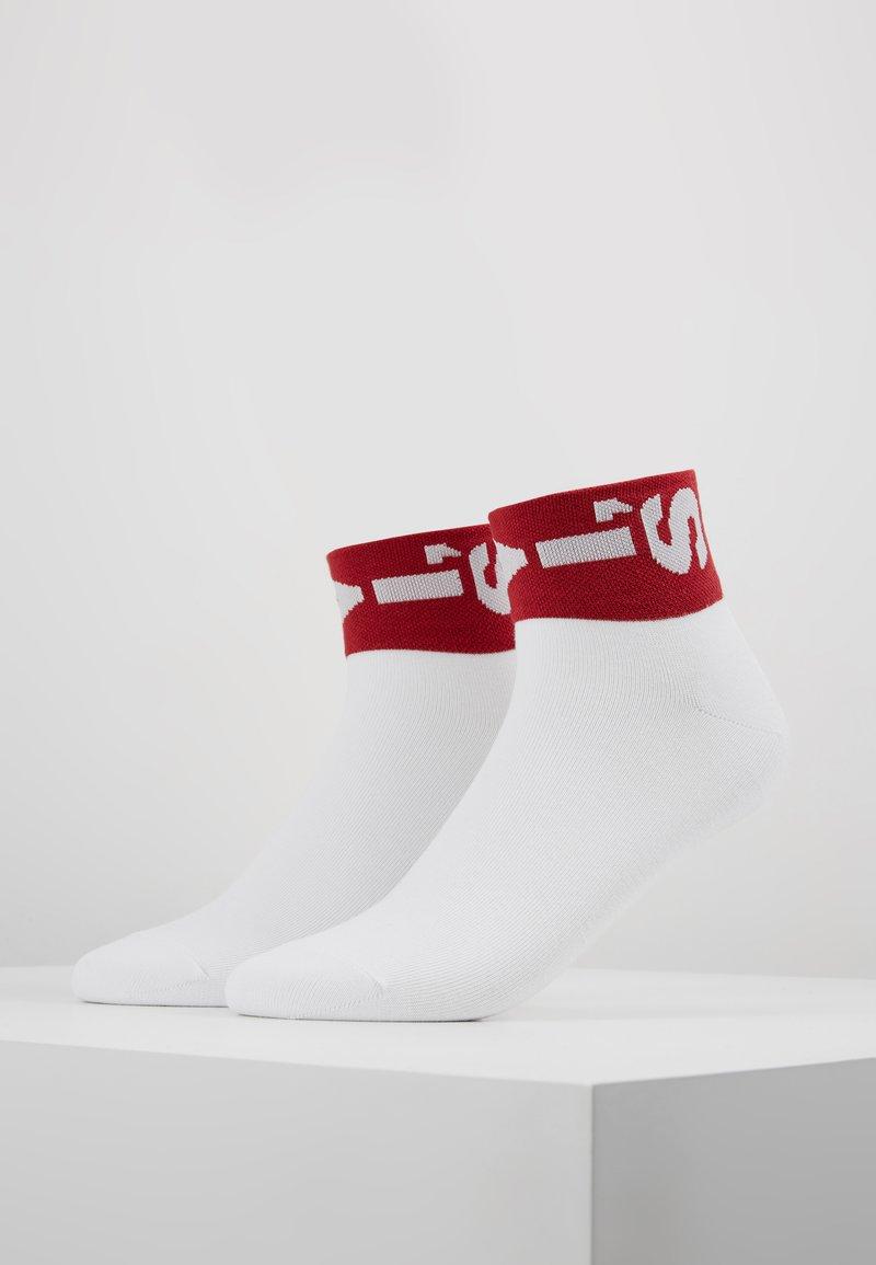 Levi's® - LEVIS 168SF MID CUT LAZY TAB 2PACK - Socken - white