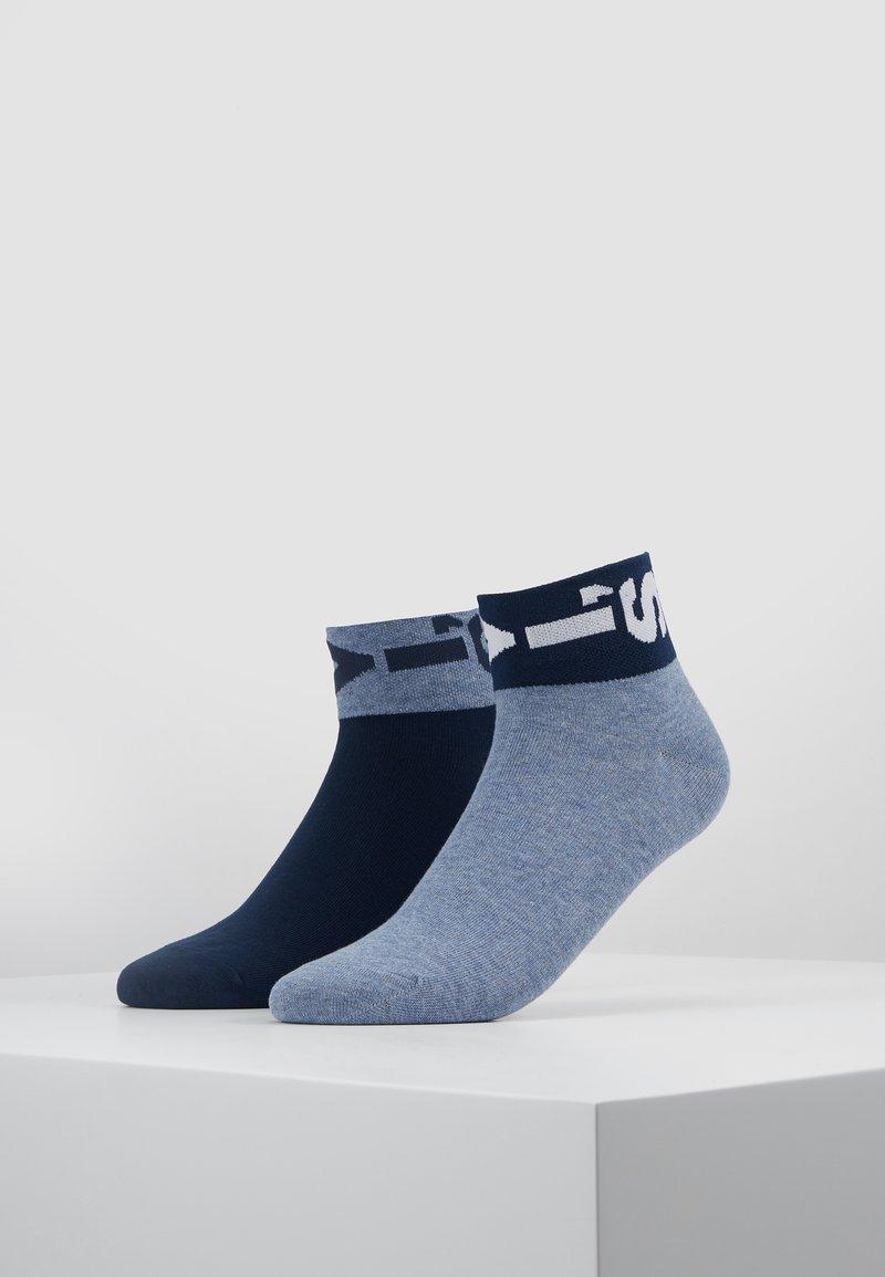 Levi's® - LEVIS 168SF MID CUT LAZY TAB 2PACK - Socks - blue
