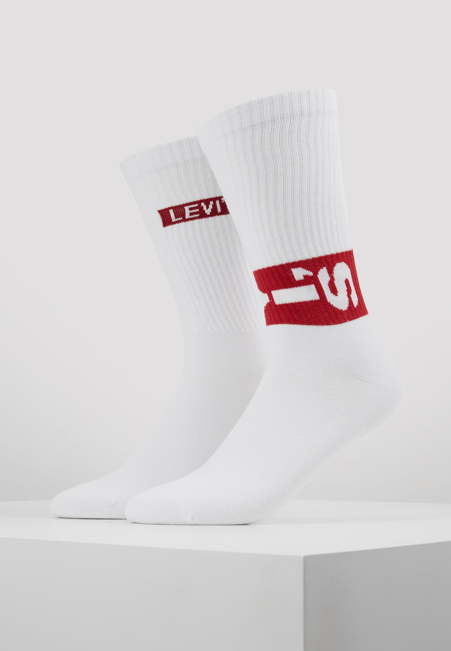 Regular White Tab PackChaussettes Cut Lazy 2 Levi's® OZiPkuX