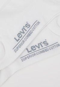 Levi's® - MID CUT 2 PACK - Socks - white - 2