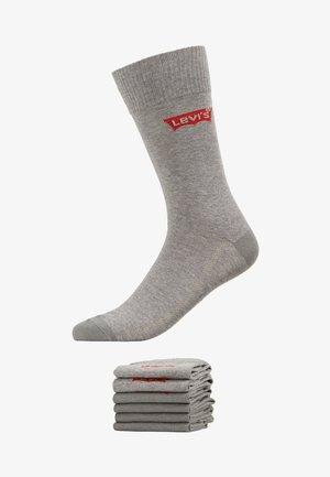 REGULAR CUT 6 PACK - Sokken - middle grey melange