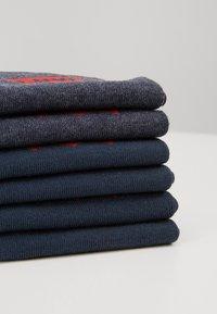 Levi's® - REGULAR CUT 6 PACK - Socks - dark denim - 2