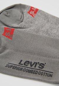 Levi's® - LOW CUT 6 PACK - Sokken - middle grey melange - 2