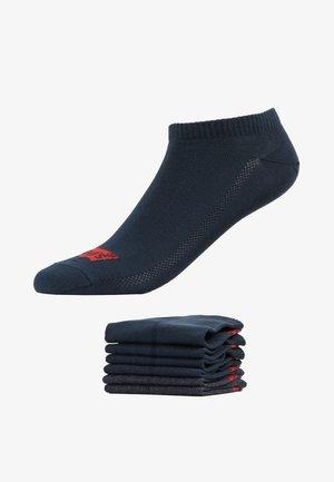 LOW CUT 6 PACK - Sokken - dark denim