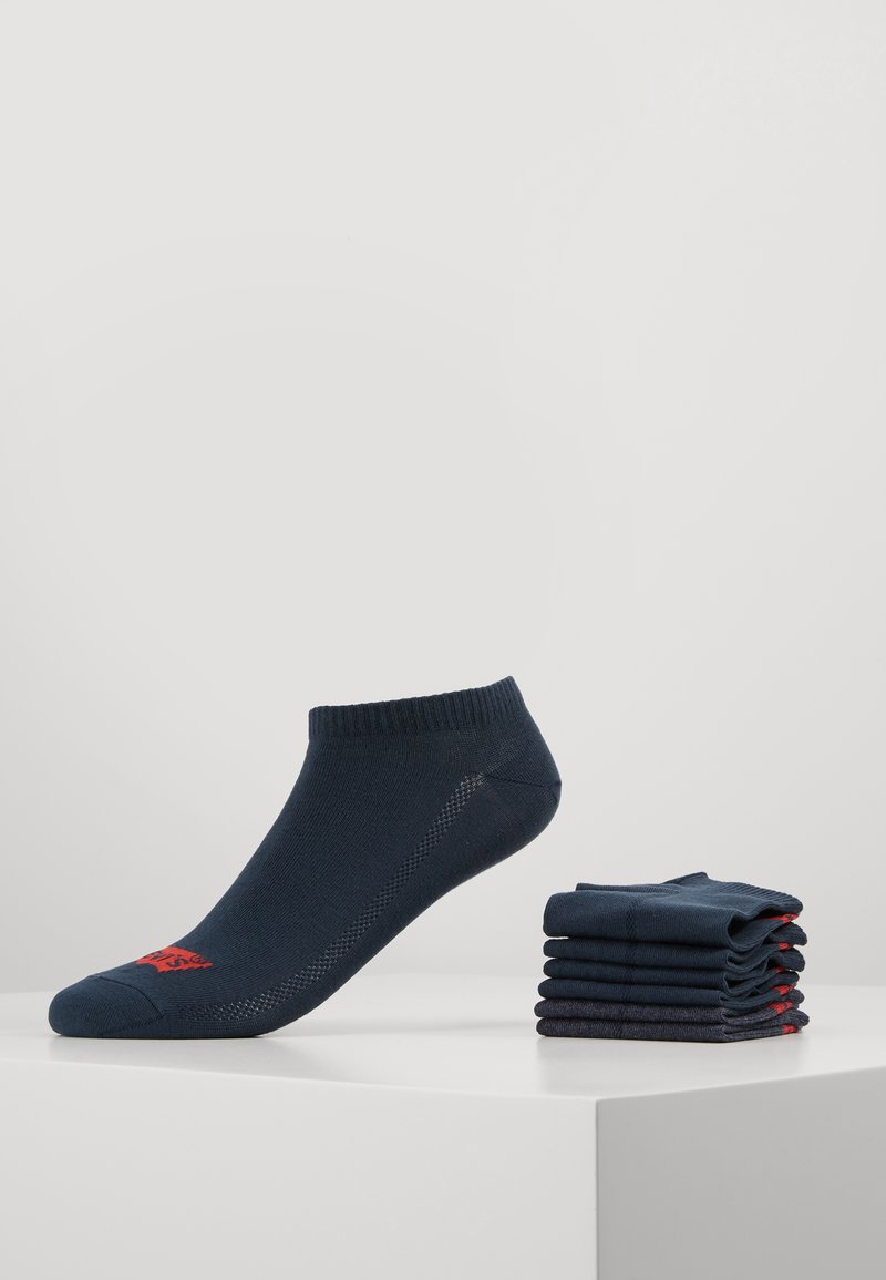 Levi's® - LOW CUT 6 PACK - Chaussettes - dark denim