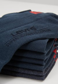 Levi's® - LOW CUT 6 PACK - Socks - dark denim - 2