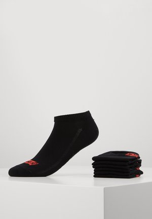 LOW CUT 6 PACK - Socks - jet black