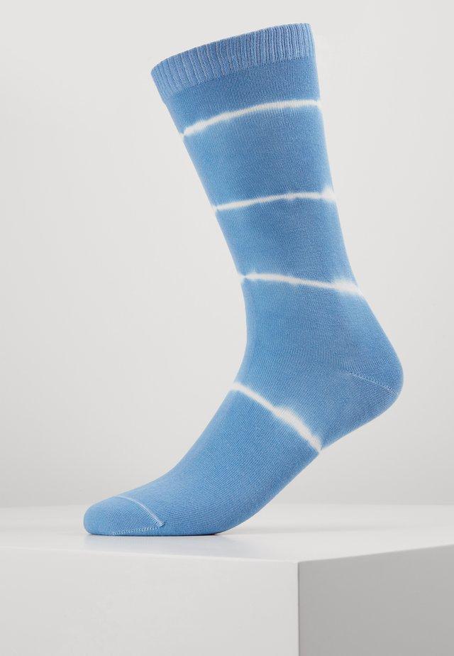 LEVIS REGULAR CUT PRINTED SOCK 1P - Skarpety - blue
