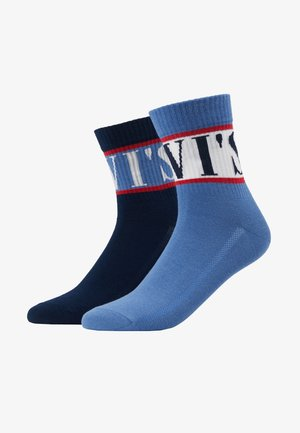SHORT SOCK SPORT STRIPE 2 PACK - Chaussettes - blue